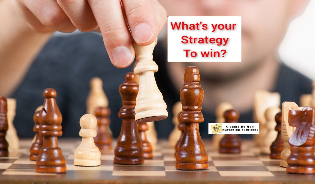 Quale è la tua strategia per vincere.